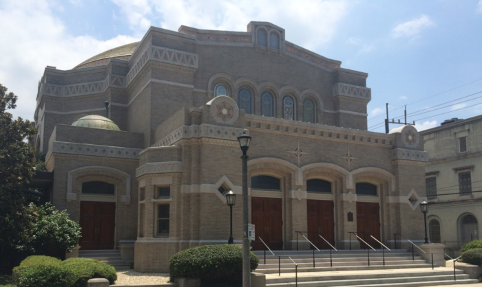 3) Touro Synagogue, 4238 St. Charles Ave.