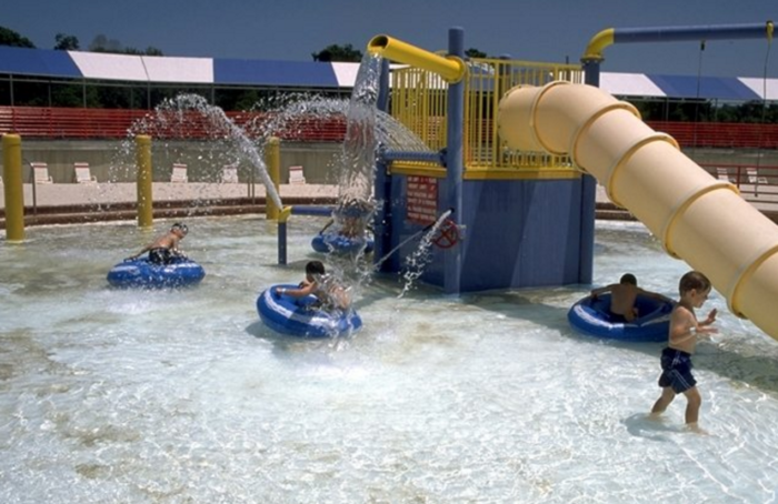 And...they have a wave pool!