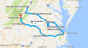 This Epic 3-Day Restaurant Road Trip In Virginia Will Make Your Mouth Explode