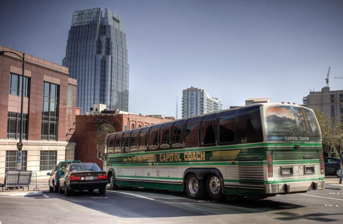 11. Take public transit.
