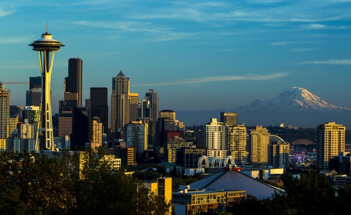 10.  A beautiful view of downtown Seattle from Kerry Park on Queen Anne.