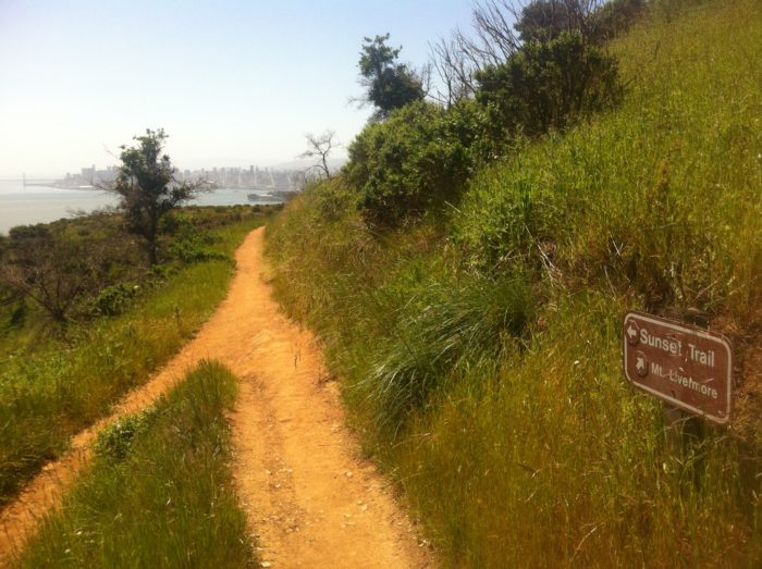 Take to the trails and climb to the 788-foot summit of Mount Caroline Livermore. You can also rent bicycles to circle around the island.