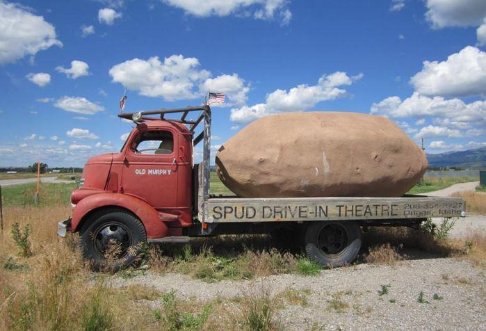 6. Spud Drive-In Potato, Driggs