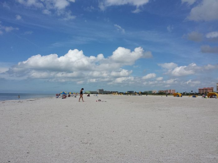 How Far Is Treasure Island From Tampa Florida