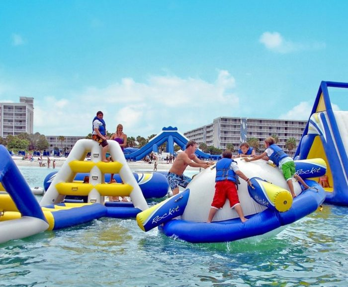 4. The Floating Water Park