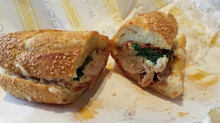 Taylor sandwich
