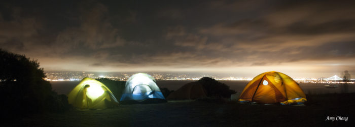 Or camp there yourself! You will need to hike in (at least 2 miles, depending where you're pitching your tent)—and, remember, it'll likely be a bit chilly.