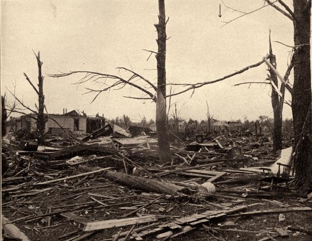 8. Tornado outbreak in June 1917