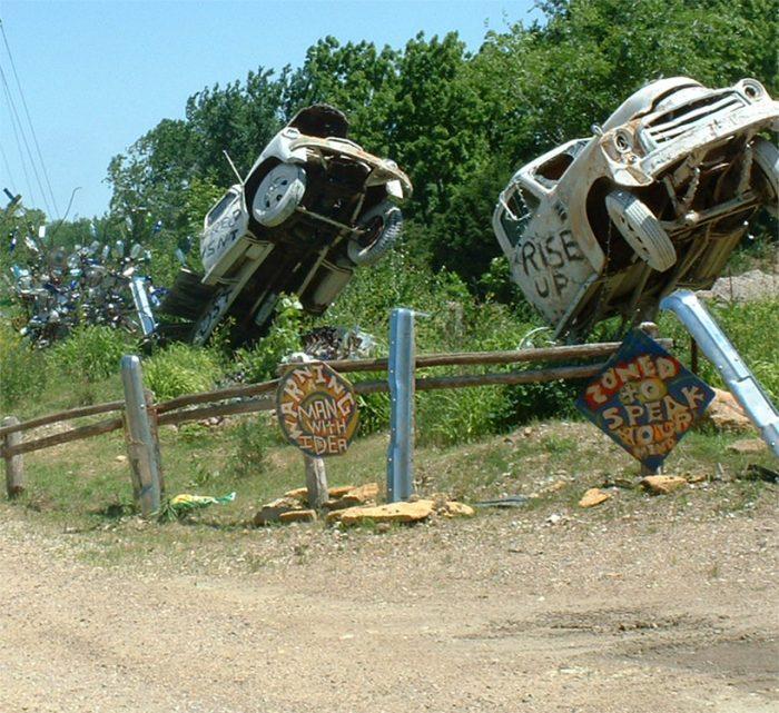 3. The Lessman Farm & Truckhenge (Topeka)