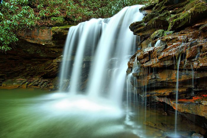 4. Marsh Fork Falls, Twin Falls State Resort Park
