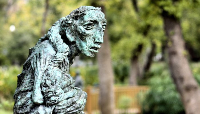 Umlauf expertly captures worried faces and looks of despair.