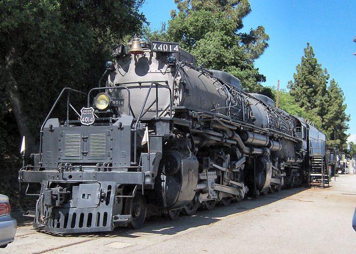4. Big Boy Steam Engine