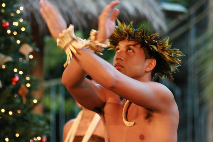 10 Men can dance the hula, too.