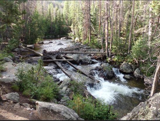 1. Adams Falls (Grand Lake)