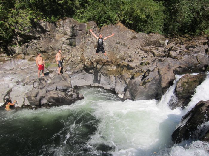 Washington: An afternoon at Moulton Falls