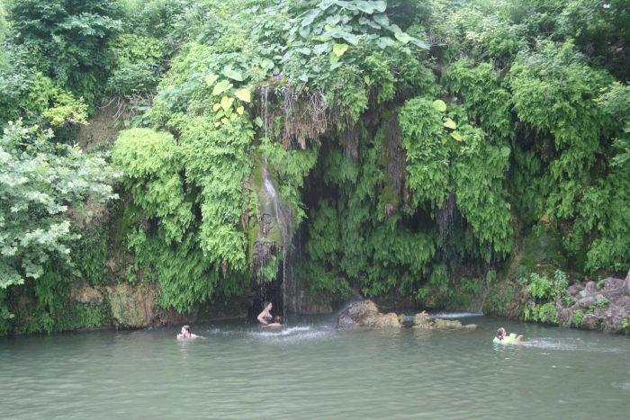 Waterfall at Krause Springs-14197882733
