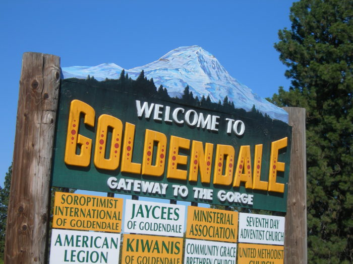 10.  Goldendale