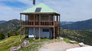 We Dare You To Spend The Night In This Montana Fire Tower And Not Love It