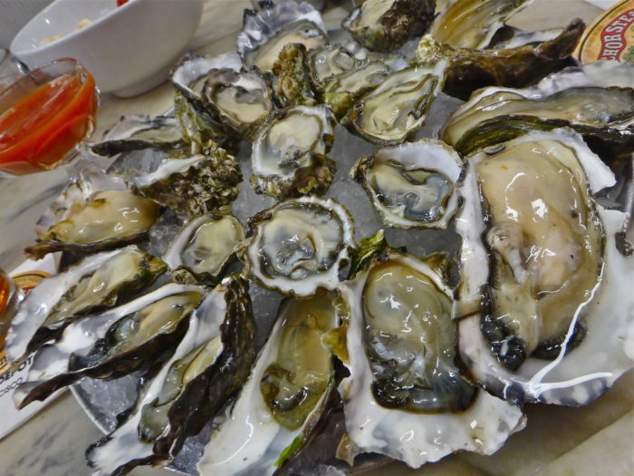 Fun fact: Oysters are jam-packed with nutrients, including iron, vitamin B12, and zinc. In fact, just two oysters will put you at your recommended daily amount of zinc, an essential trace mineral. So, go on and slurp up!
