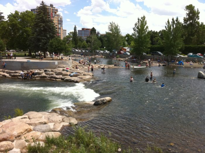 3.Truckee River Whitewater Park – Reno