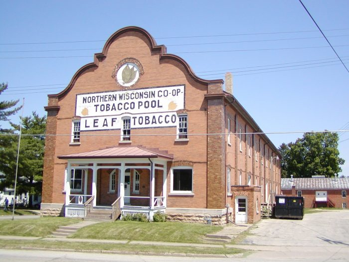 2. Northern Wisconsin Co-op Tobacco Pool Warehouse
