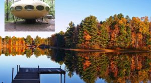 Spend The Night In This UFO In Wisconsin For An Unforgettable Experience