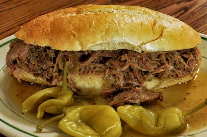 2. Italian Beef Sandwich