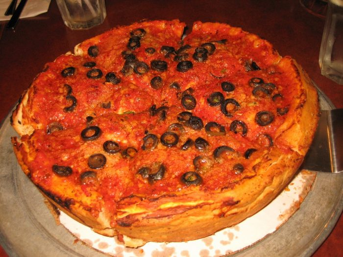 3. Deep Dish Pizza