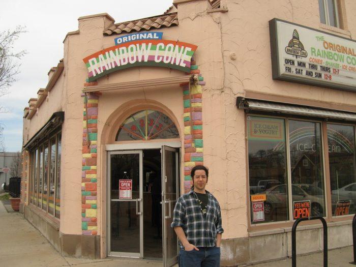 4. Original Rainbow Cone