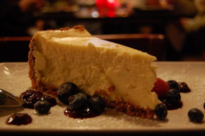 7. Cheesecake