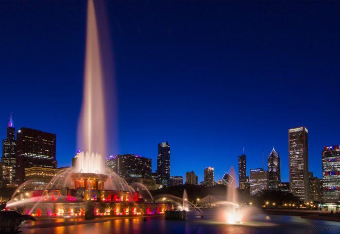 12. Buckingham Fountain