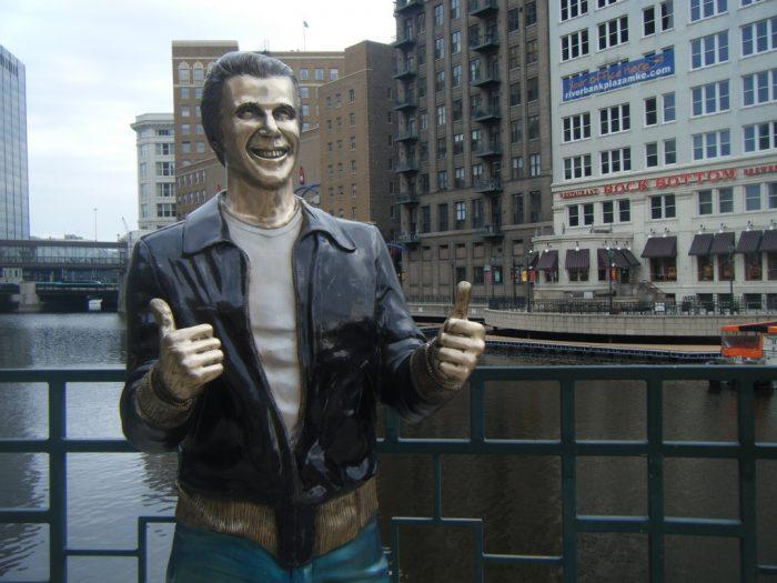 11. Bronze Fonz (Milwaukee)