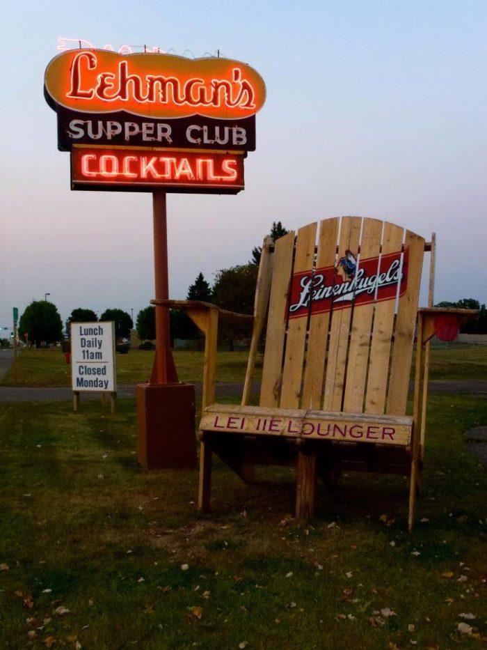 1. Lehman's Supper Club