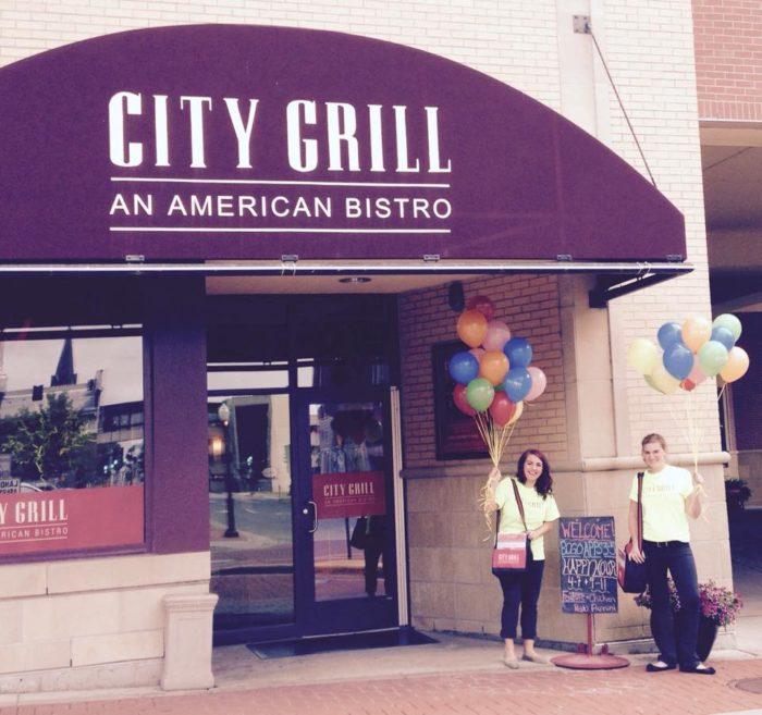 8. City Grill
