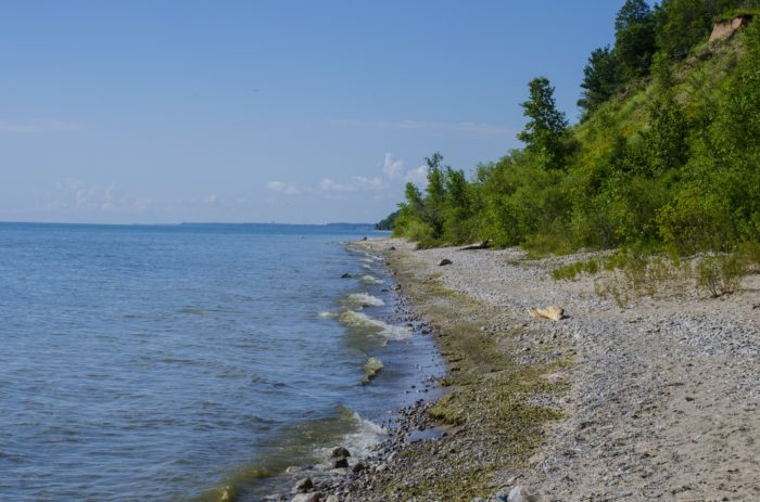 7. It's one of the last untouched parts of Lake Michigan shoreline.