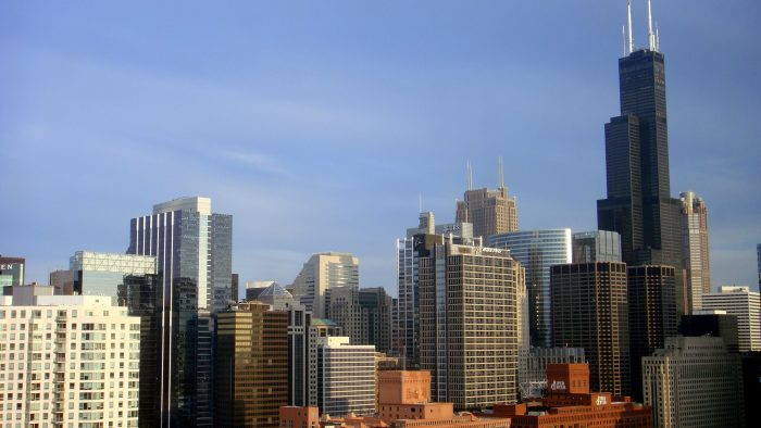 1. There's nothing quite like seeing the Chicago skyline.