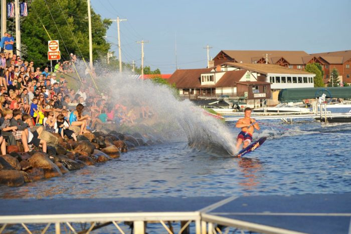 4. Marvel at a Waterski Show