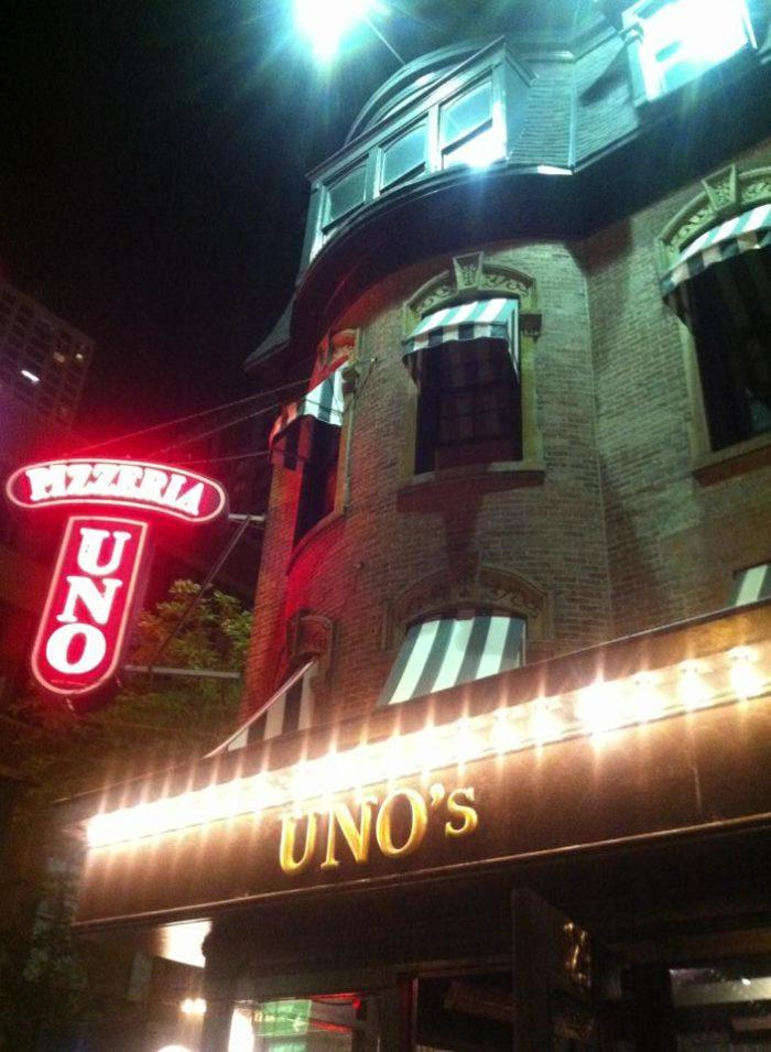 9. Pizzeria Uno's