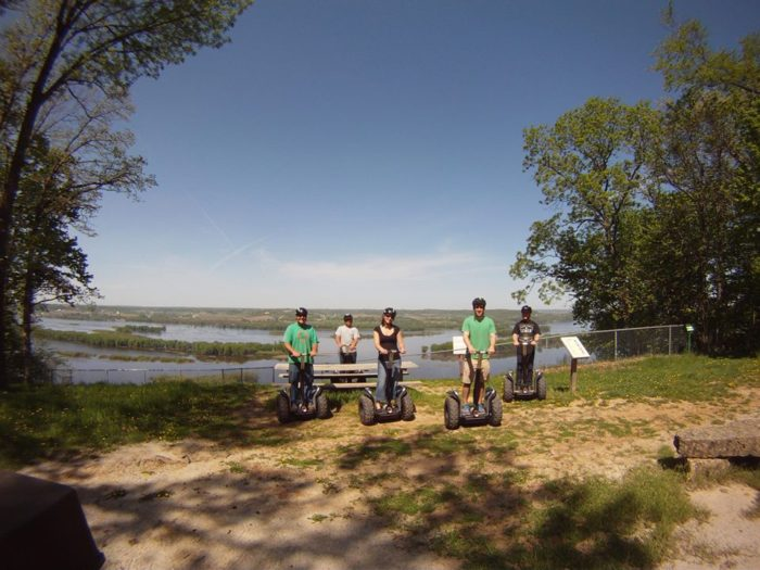 5. You can also rent Segways to get around the resort.