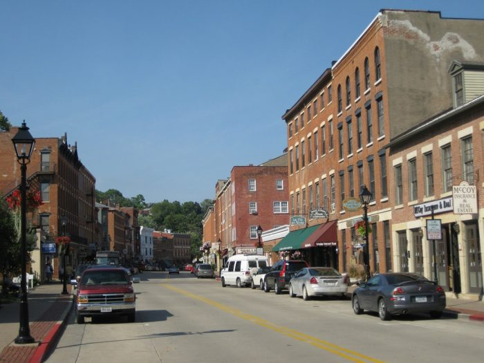 12. Small towns in Illinois never cease to charm us.