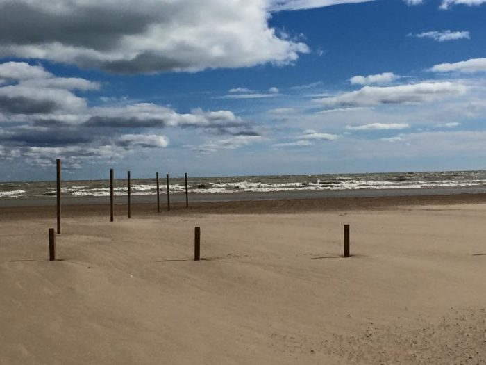1. This beach is comprised of 50 acres of beautiful sand along 2500 feet of shoreline.