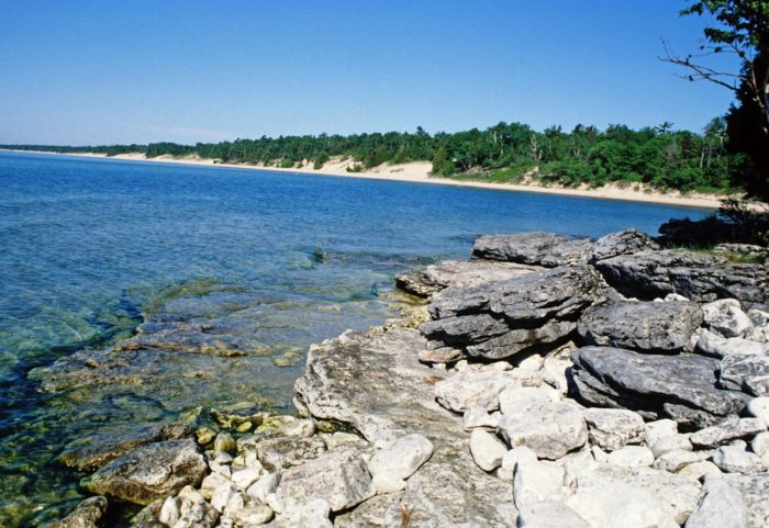 2. It is the largest sand dune area on the Western shore of Lake Michigan.