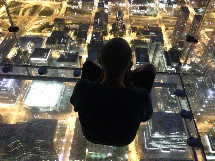 3. Skydeck, Willis Tower (Chicago)