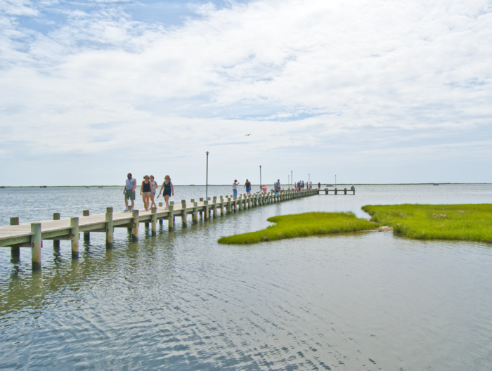 End your fun-filled day with an evening stroll on the scenic pier. Then do it all again the next day.
