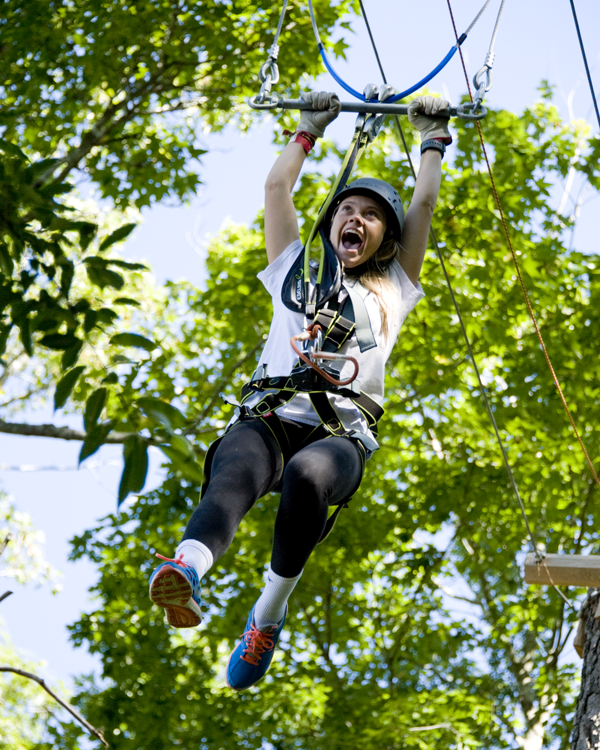 And don't miss out on the zip-line!