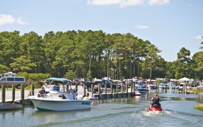 Or bring your boat and dock it at the marina for fun on the water.