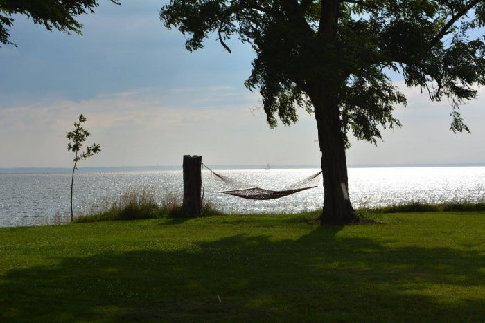 Or simply refresh your senses with a nap on a hammock.