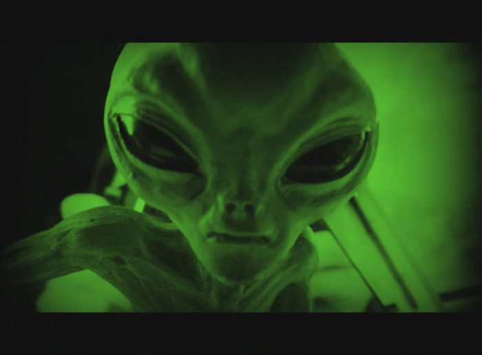 7.  Have you ever seen an alien?