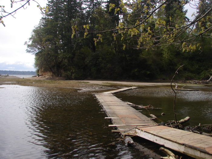 9. Enjoy a little island getaway and visit Lake Florence on Anderson Island.