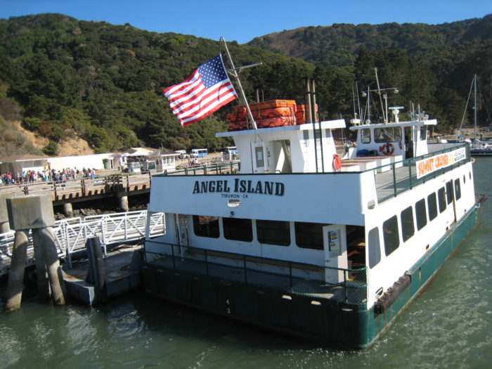 Ferries run daily from the Ferry Building and Pier 41, as well as Tiburon.
